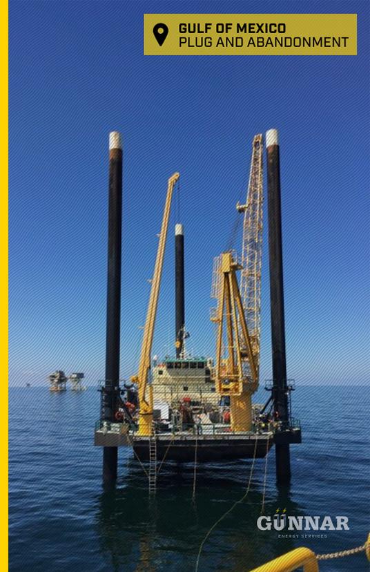 Gunnar Energy Services Gulf of Mexico